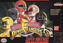 Photo de la boite de Mighty Morphin Power Rangers
